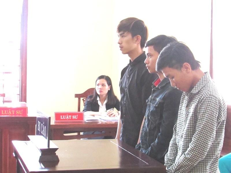 3 thanh niên lãnh án vì ham nhậu, lười lao động - ảnh 1