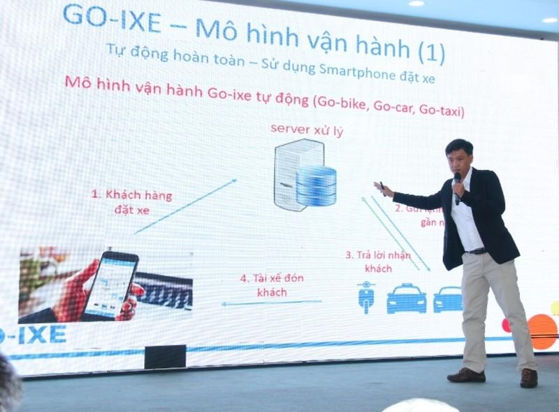 Ra mắt ứng dụng gọi xe made in Việt Nam - ảnh 1