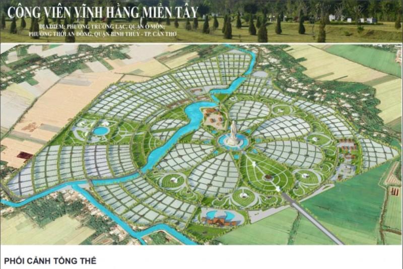 Dự án Công viên Vĩnh Hằng Miền Tây: 85 ha hay 150 ha? - ảnh 1