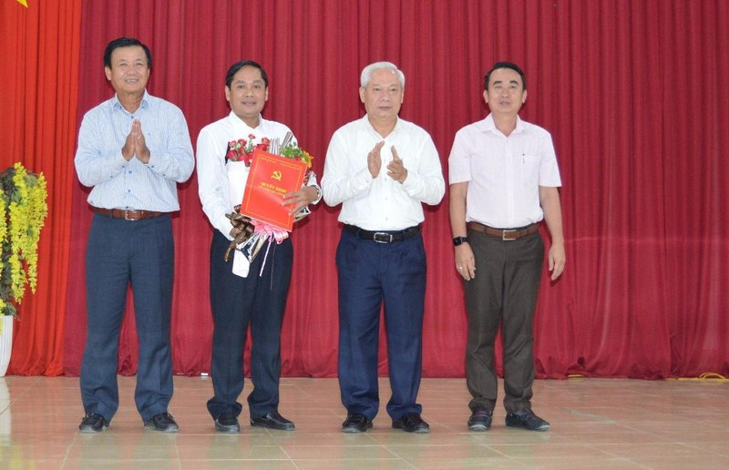 Giám đốc Sở KH&ĐT Cần Thơ giữ chức Bí thư huyện Thới Lai - ảnh 1