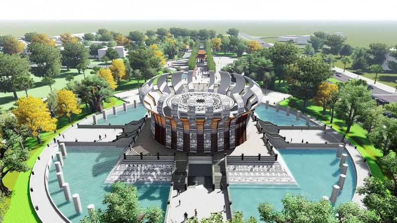 Tài trợ xây đền Hùng, doanh nghiệp xin làm thêm khu thương mại - ảnh 1