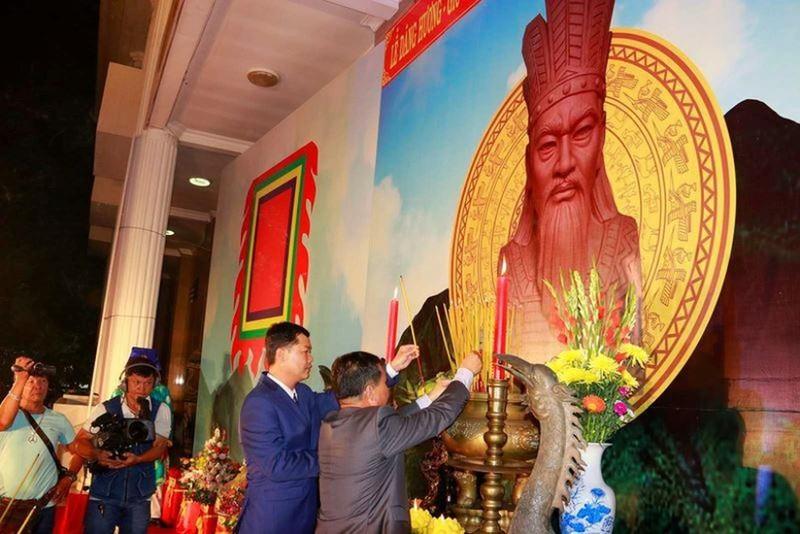 TP Cần Thơ tổ chức Lễ dâng hương tưởng niệm các Vua Hùng tại Bảo tàng TP năm 2019.