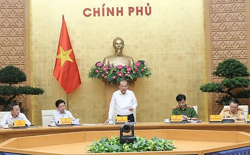 Phó thủ tướng nhắc nhở 14 tỉnh có tai nạn giao thông tăng cao - ảnh 1