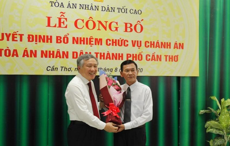 Thẩm phán Thái Quang Hải giữ chức chánh án TAND TP Cần Thơ - ảnh 2