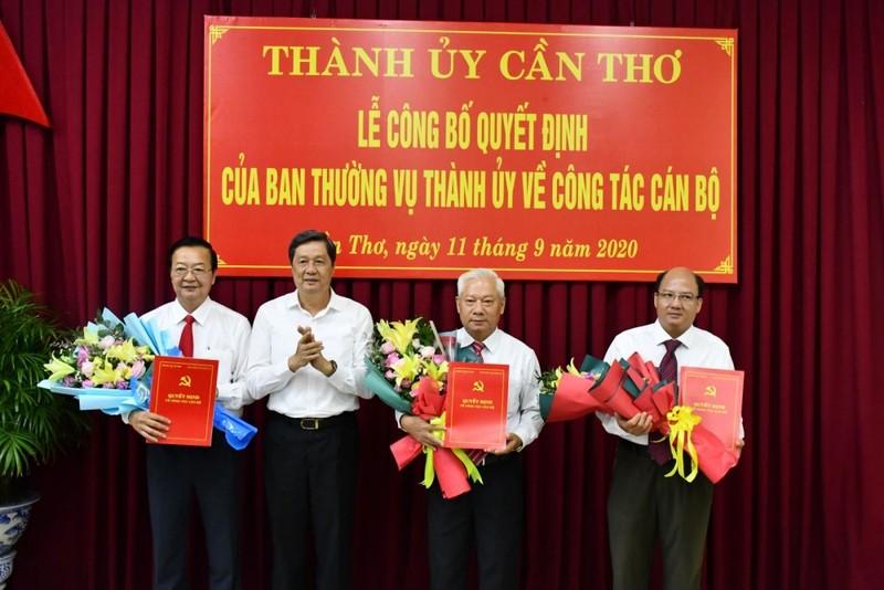 Cần Thơ: Ông Lê Tấn Thủ giữ chức Trưởng Ban Tổ chức Thành ủy - ảnh 1