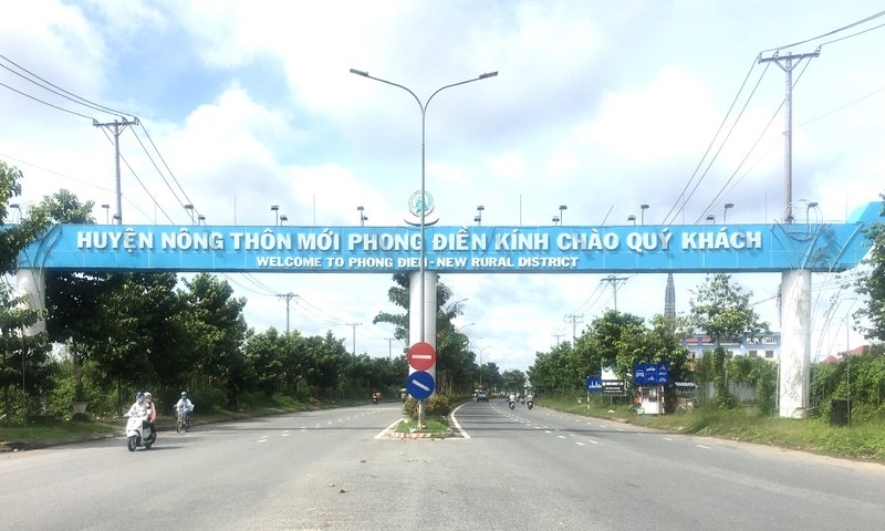 Cần Thơ: Khu tái định cư Phong Điền được duyệt 284 nền - ảnh 1