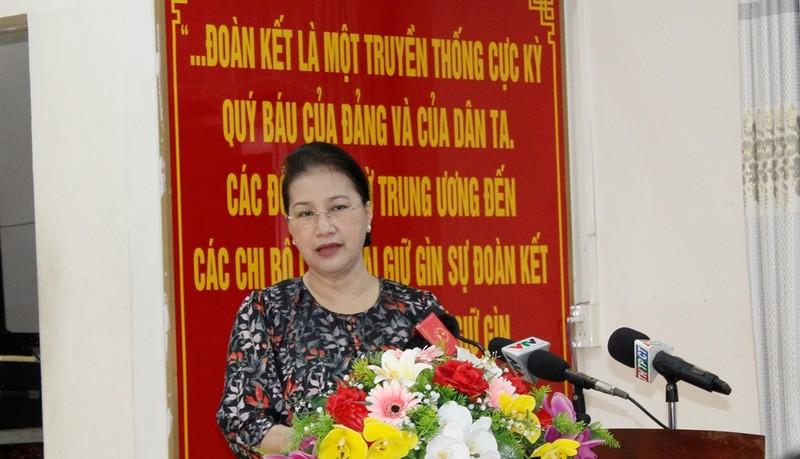 Chủ tịch Quốc hội nói về các tuyến đường cao tốc cho miền Tây  - ảnh 2