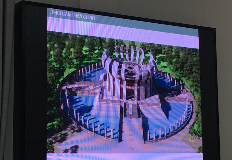 Cần Thơ: Xin đổi cách tạo hoa văn bên ngoài Đền thờ Vua Hùng - ảnh 1