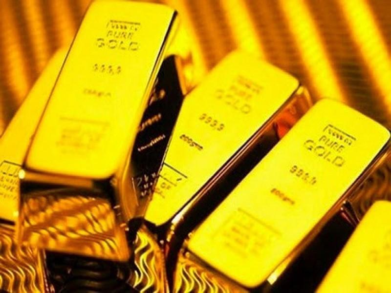 Giá vàng trong nước ngược chiều giá vàng thế giới - ảnh 1