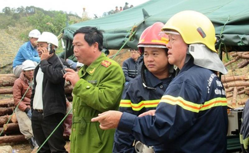 Vụ sập hầm thủy điện: Làm tất cả để cứu người - ảnh 4
