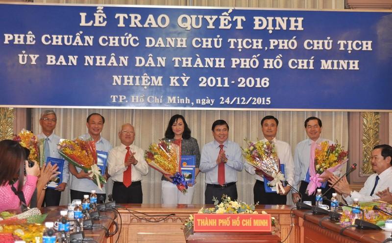 Phó Thủ tướng trao quyết định phê chuẩn nhân sự mới tại TP.HCM  - ảnh 6