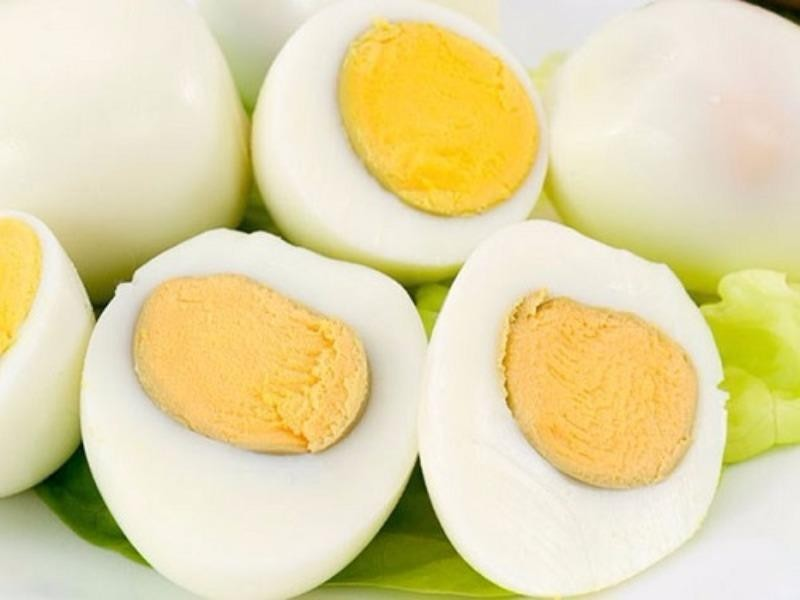 trứng luộc