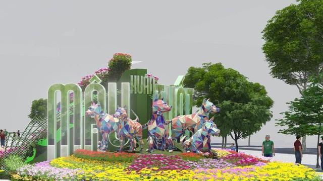 Công bố linh vật đường hoa Nguyễn Huệ 2018 - ảnh 2