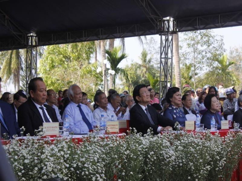 Tưởng niệm 50 năm vụ thảm sát Sơn Mỹ - ảnh 1