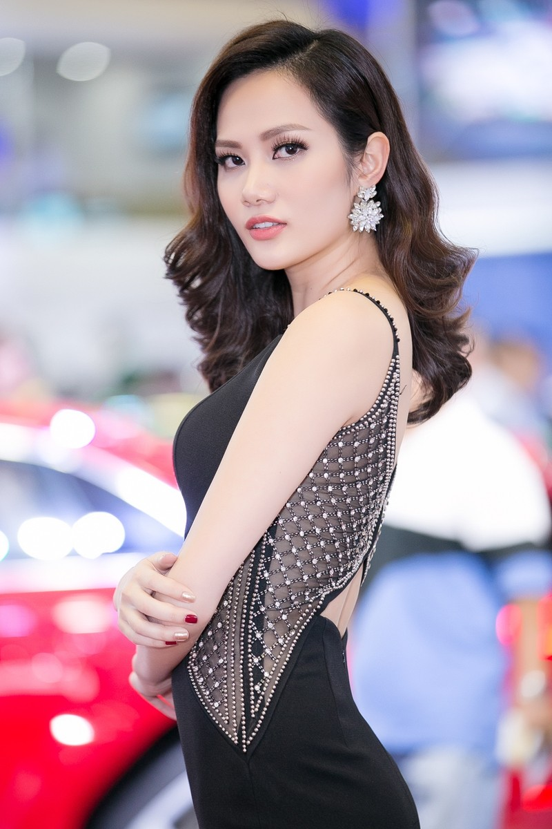 Hoa hậu Diệu Linh dự thi Nữ hoàng Du lịch Quốc tế 2018 - ảnh 4