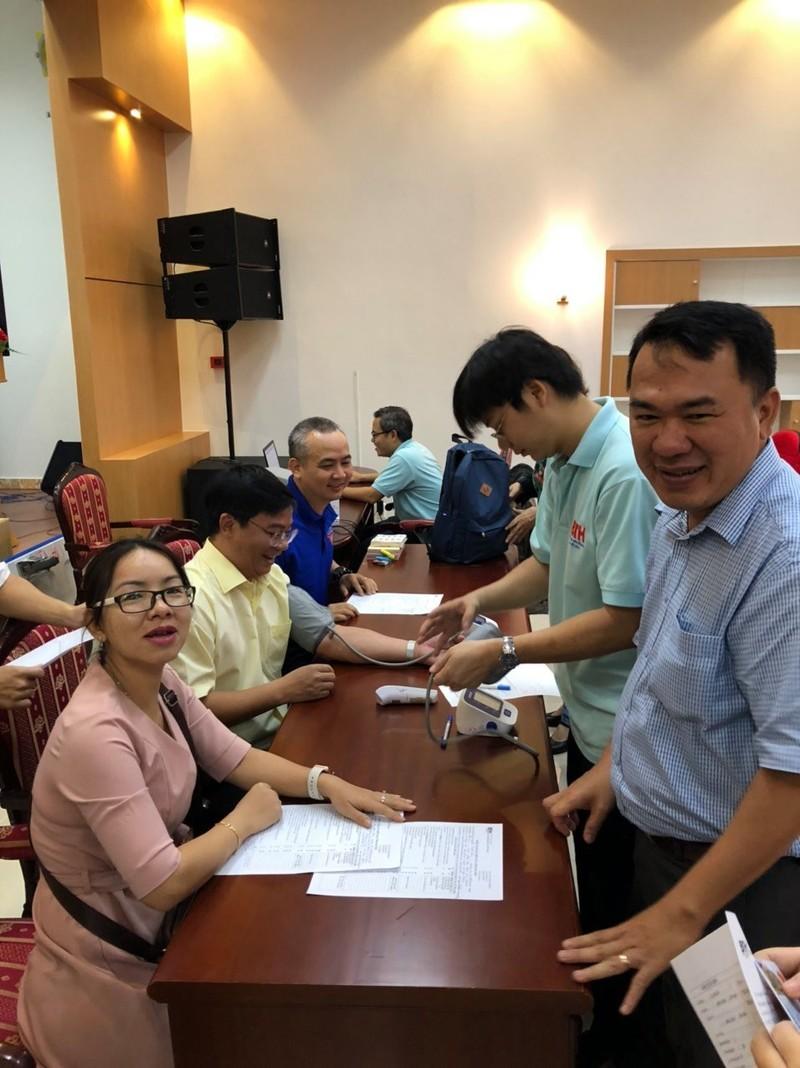 Công đoàn viên Sở Tư pháp TP.HCM hiến máu tình nguyện - ảnh 2