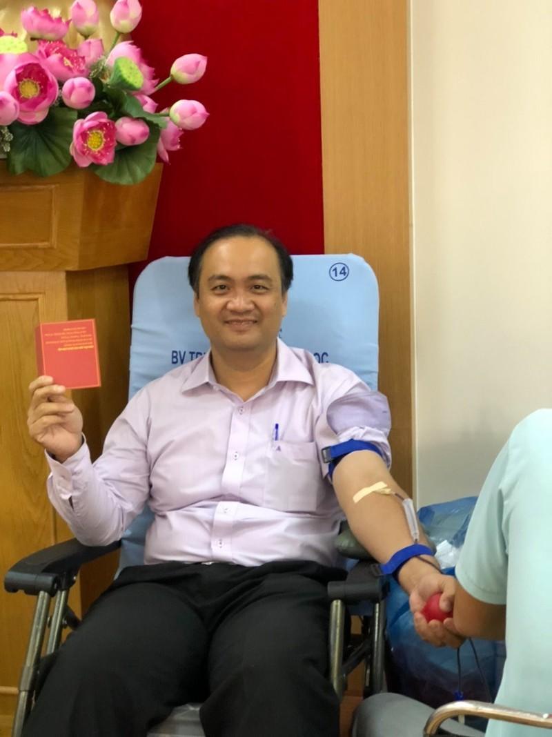 Công đoàn viên Sở Tư pháp TP.HCM hiến máu tình nguyện - ảnh 5