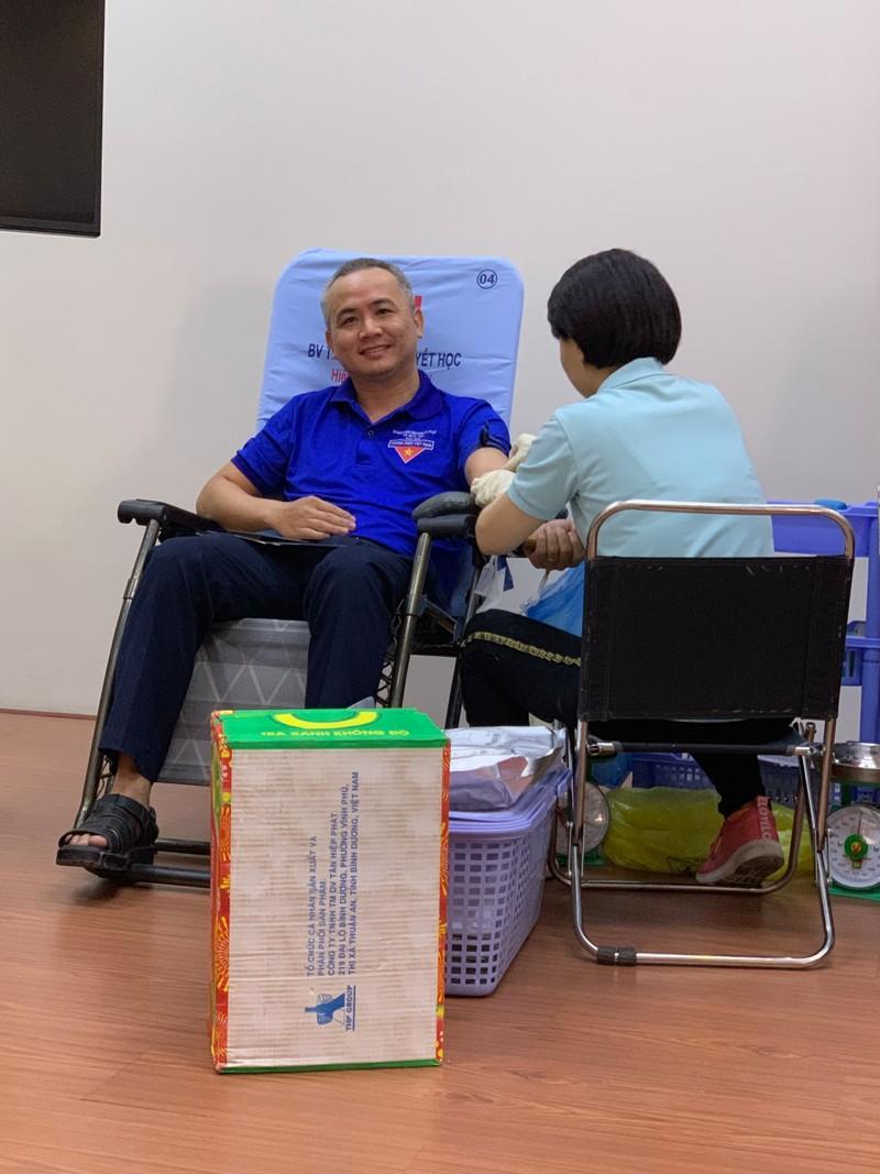 Công đoàn viên Sở Tư pháp TP.HCM hiến máu tình nguyện - ảnh 3
