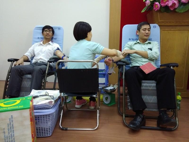 Công đoàn viên Sở Tư pháp TP.HCM hiến máu tình nguyện - ảnh 4