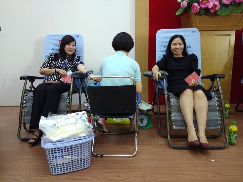 Công đoàn viên Sở Tư pháp TP.HCM hiến máu tình nguyện - ảnh 6