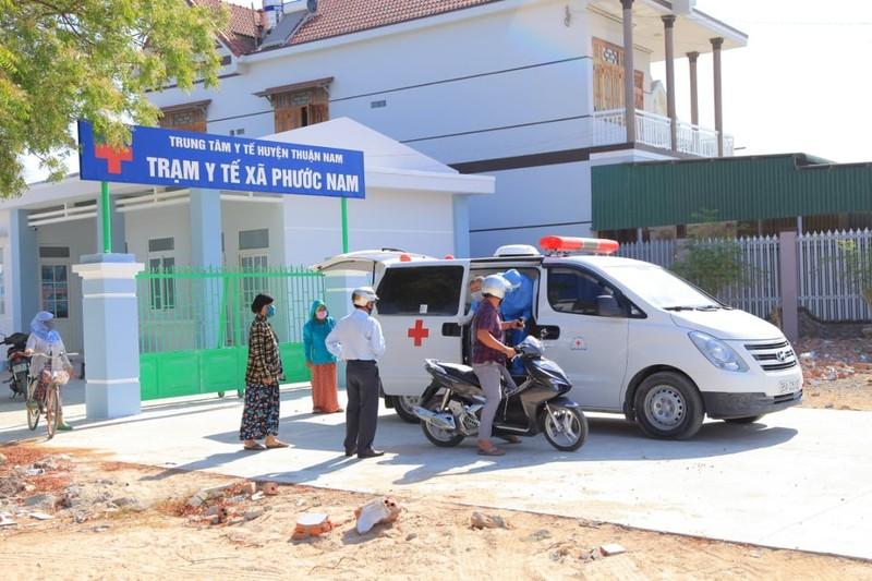 Dịch COVID-19: Ninh Thuận đưa thêm 6 trường hợp F1 đi cách ly - ảnh 1