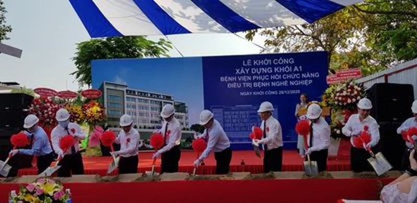 TP.HCM: Gần 354 tỉ đồng xây mới BV Phục hồi chức năng  - ảnh 1
