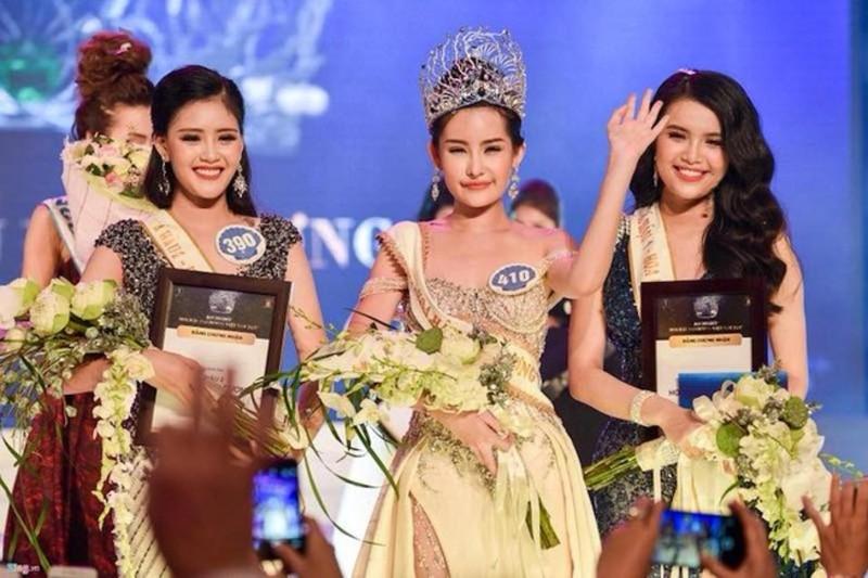 Cục NTBD yêu cầu thu hồi danh hiệu Hoa hậu đại dương - ảnh 1