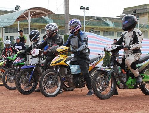 Dàn xe độ và các cuộc đua thử giải Vietnam Motor Cub Prix - ảnh 6