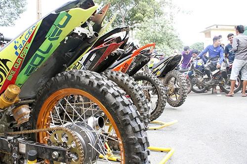 Dàn xe độ và các cuộc đua thử giải Vietnam Motor Cub Prix - ảnh 3