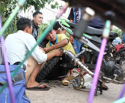 Dàn xe độ và các cuộc đua thử giải Vietnam Motor Cub Prix - ảnh 4
