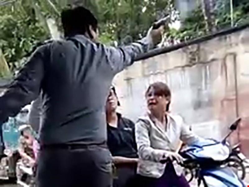 Giám đốc nổ súng dọa dân bị tạm giữ để điều tra - ảnh 1