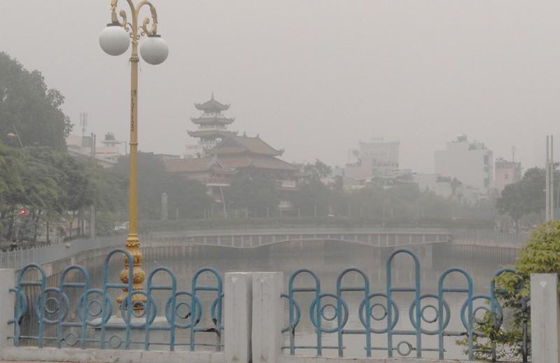 Sài Gòn bảng lảng sương mù - ảnh 2
