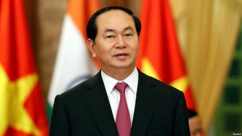 Chủ tịch nước: Chung sức đưa đất nước phát triển - ảnh 1
