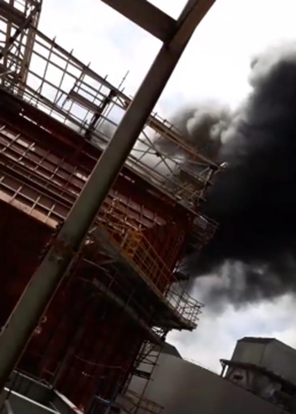 Cháy dữ dội nhà máy nhiệt điện Duyên Hải ở Trà Vinh - ảnh 2