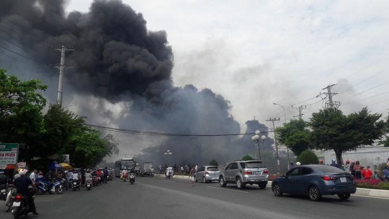 Vũng Tàu: Cháy ở khu vực đường Võ Nguyên Giáp - ảnh 1