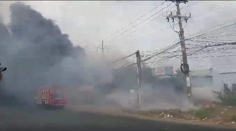 Vũng Tàu: Cháy ở khu vực đường Võ Nguyên Giáp - ảnh 4
