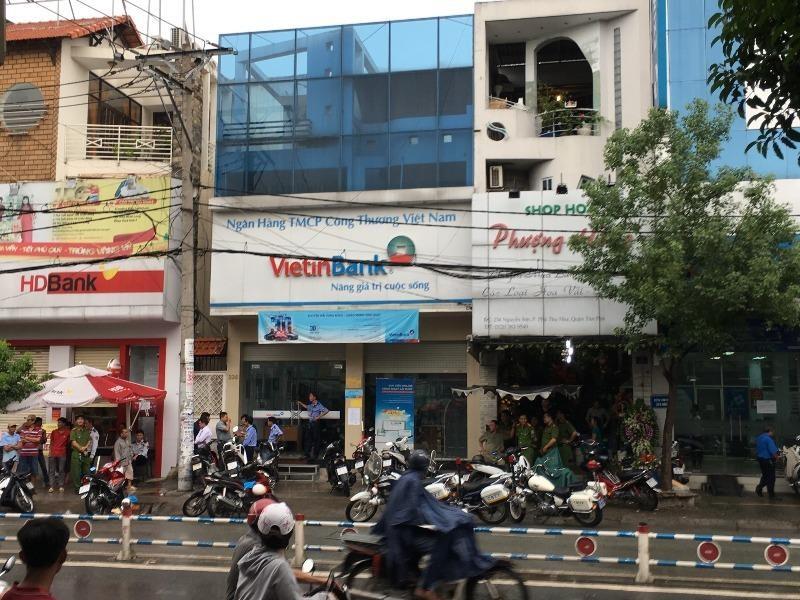 Ngáo đá đi cướp tiền tại một ngân hàng ở Tân Phú - ảnh 1