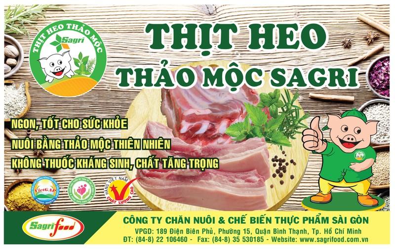 Sagrifood cung cấp chuỗi thịt sạch, an toàn - ảnh 1