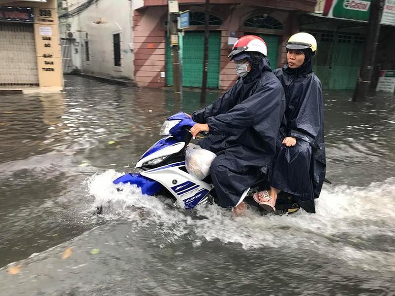 Bão vào Vũng Tàu, mưa to hoành hành khắp miền Nam - ảnh 3