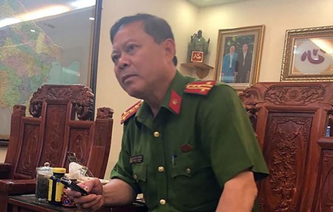 Trưởng Công an TP Thanh Hóa bị tạm đình chỉ công tác - ảnh 1