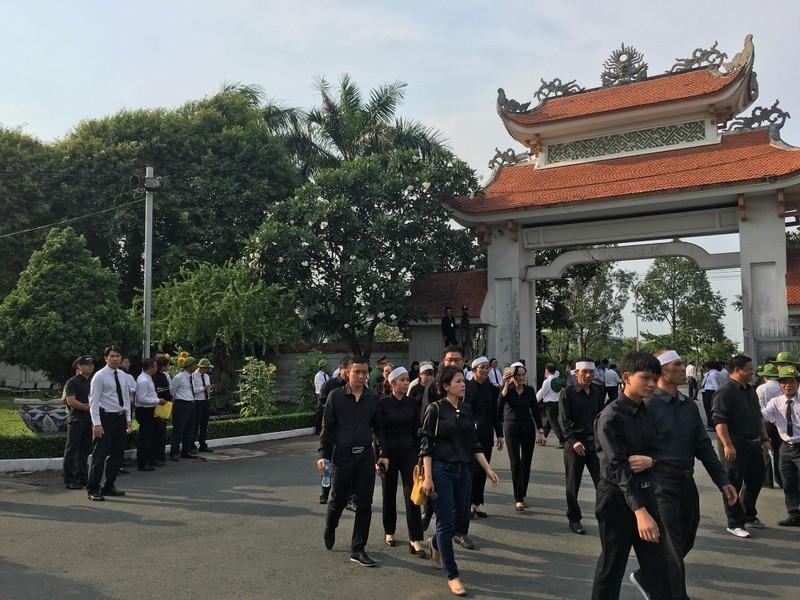 Lễ an táng Đại tướng Lê Đức Anh tại Nghĩa trang TP.HCM - ảnh 14