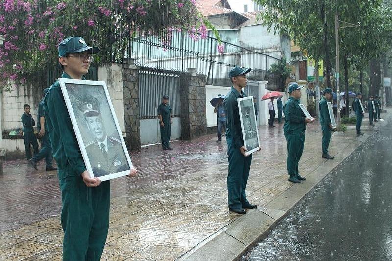 Lễ an táng Đại tướng Lê Đức Anh tại Nghĩa trang TP.HCM - ảnh 20