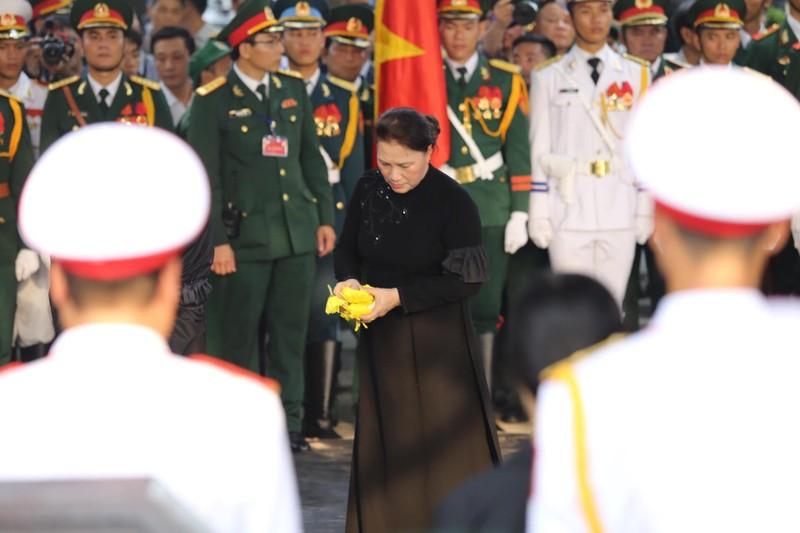 Lễ an táng Đại tướng Lê Đức Anh tại Nghĩa trang TP.HCM - ảnh 3
