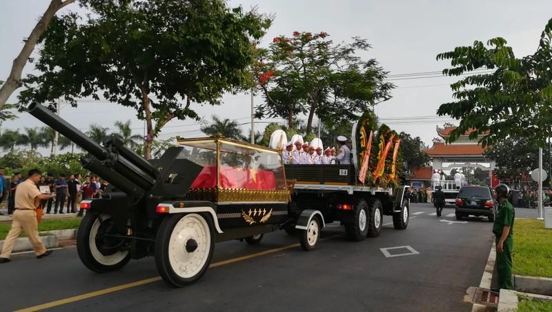 Lễ an táng Đại tướng Lê Đức Anh tại Nghĩa trang TP.HCM - ảnh 4