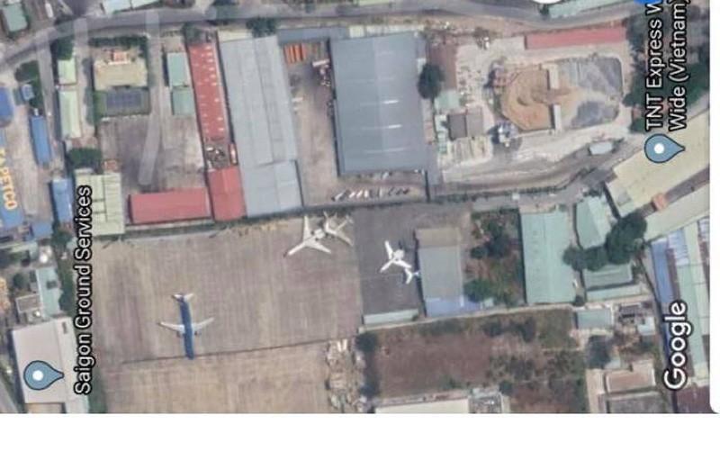 Cháy kho hàng ở khu vực sân bay Tân Sơn Nhất - ảnh 1