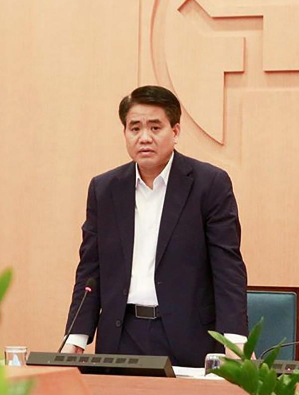 Tạm đình chỉ công tác Chủ tịch UBND TP Hà Nội Nguyễn Đức Chung - ảnh 1