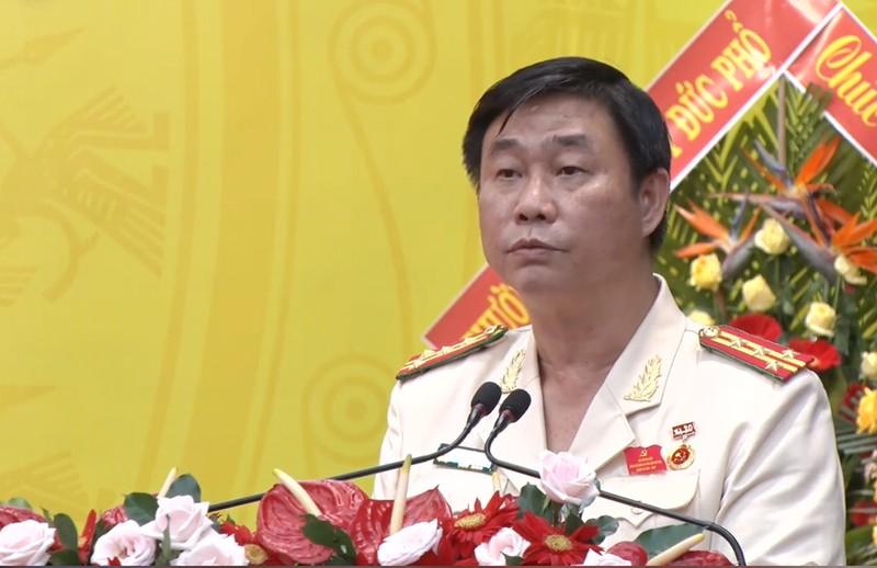 Đại tá Phan Công Bình tái đắc cử Bí thư Công an Quảng Ngãi   - ảnh 2