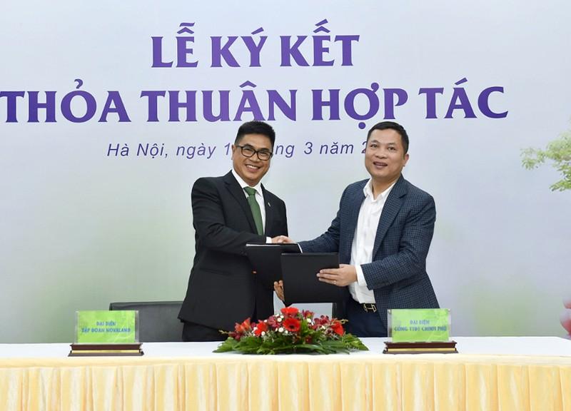 Novaland ký hợp tác với Chinhphu.vn và VTV Digital  - ảnh 1