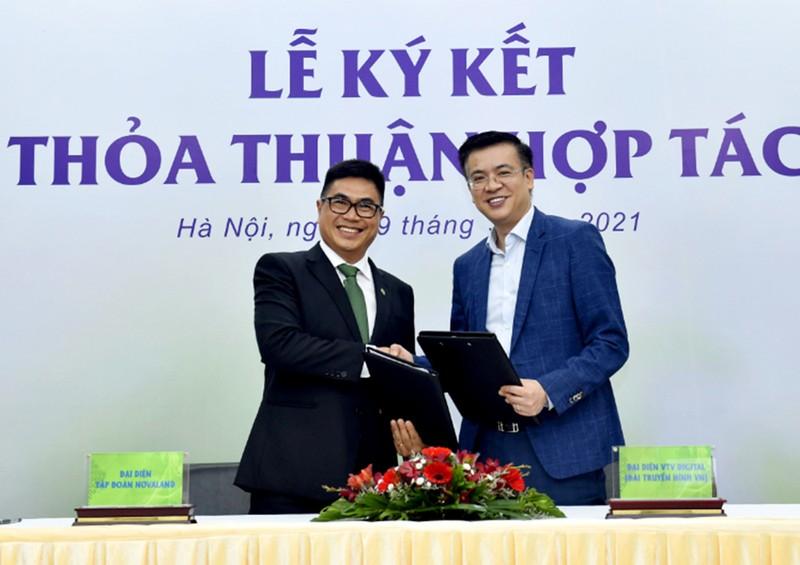Novaland ký hợp tác với Chinhphu.vn và VTV Digital  - ảnh 2
