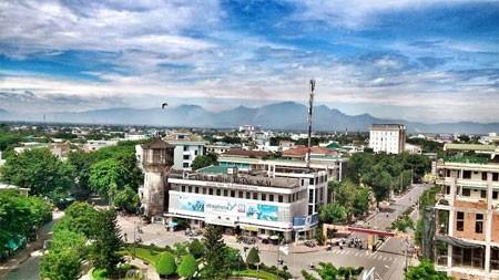 Công bố điều chỉnh mở rộng địa giới hành chính TP Quảng Ngãi - ảnh 1